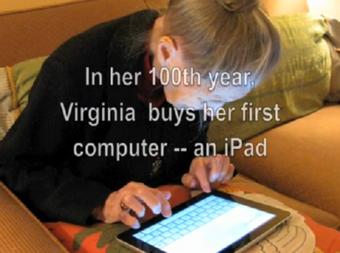 「iPad」が一人の女性の人生を変えた